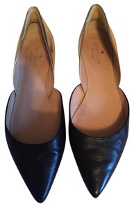 Kate Spade Black, Rose Gold Flats