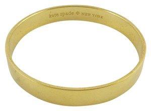 Kate Spade New Kate Spade New York Gold Plated As Good As Gold Bangle Bracelet