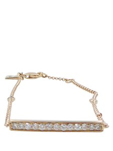 Ruby Stella Ruby Stella 14K Rose Gold Diamond Bar Bracelet
