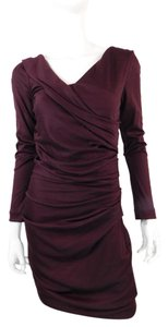 Diane von Furstenberg Dvf Bodycon Fitted Dress