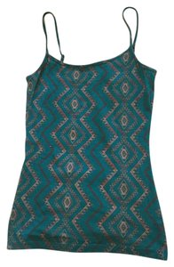 Nollie Green Adjustable Top Teal Southwest print