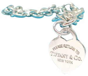 Tiffany & Co. Tiffany & Co. Return To Tiffany Heart Charm Bracelet