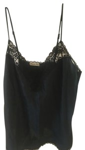 Dior Designer Lace Satin Top