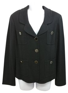 St. John Black Knit Jacket