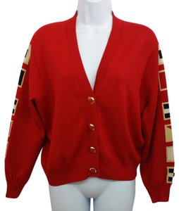 St. John Red Sweater