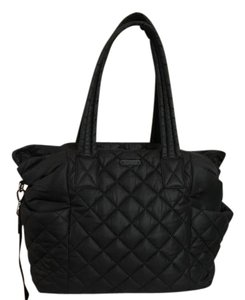 Michael Kors Gym Nylon Quilted Black Diaper Bag
