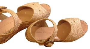 Robert Clergerie Natural Wedges