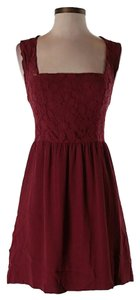 Urban Outfitters short dress Crimson Lace Kimchi Blue on Tradesy