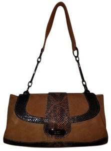 Stuart Weitzman Desinger Saks Fifth Avenue Nordstrom Exotic Western Satchel in Brown
