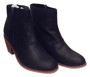 Sole Society Leather Black Boots