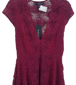 For Love & Lemons short dress Maroon on Tradesy
