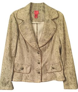 V Cristina Multi-Brown Blazer