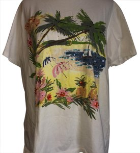 Karen Scott T Shirt Multi Color