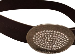 Abercrombie & Fitch Sparkly Leather Belt
