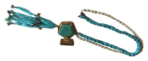 Other Turkish silk, pearl and turquoise Necklace