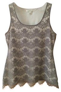Banana Republic Top Grey lace
