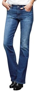 Gap Cotton Blend Denim Medium Boot Cut Jeans-Medium Wash