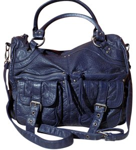 Mossimo Supply Co. Bohemian Pebbled Classic Faux Leather Front Flap Shoulder Bag