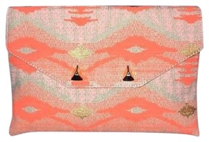Stella & Dot tribal orange Clutch