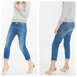 Mother Boyfriend Cut Jeans-Light Wash