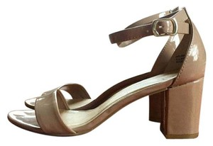 Chinese Laundry Heels Patent Leather Party Work Nude Pumps