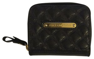Juicy Couture Quilted leather zip around wallet