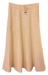 Banana Republic Ponte New With Tags Skirt Cream
