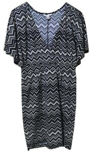 Jonathan Martin Ethnic V-neck Date Dress