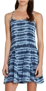 BCBGeneration short dress Blue Tie Dye Sleeveless on Tradesy