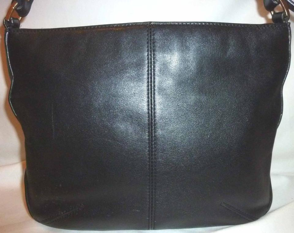 f2d5ed893f Etienne Aigner Refurbished Leather Lined Shoulder Bag Image 7. 12345678