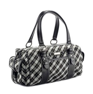 Burberry London London Japan Twill Satchel in Nova