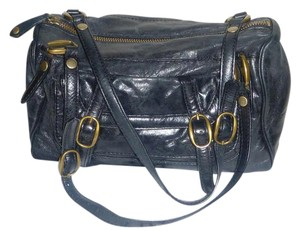 Olivia Harris Leather Buckle Dust Dust Cover Shoulder Bag