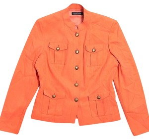 Valerie Stevens orange Jacket