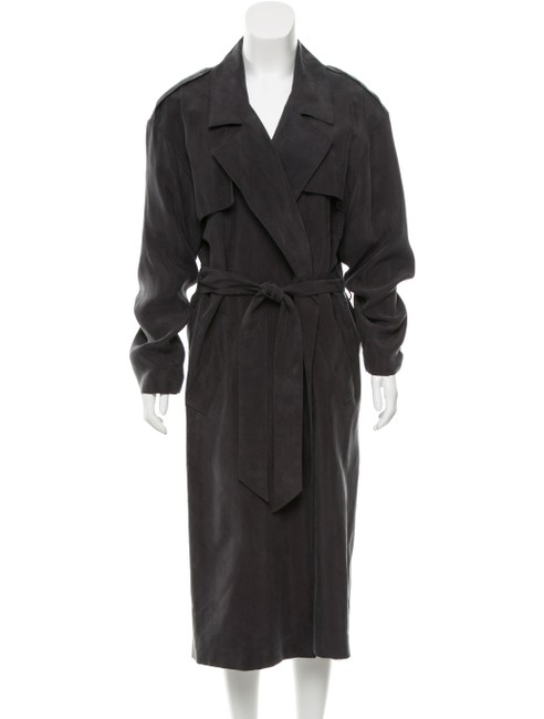 Smythe Carbon Slate Size Medium Gigi Hadid Trench Coat