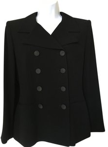 Ellen Tracy Pea Coat Military Jacket