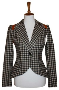 Smythe Black Check Multi Blazer