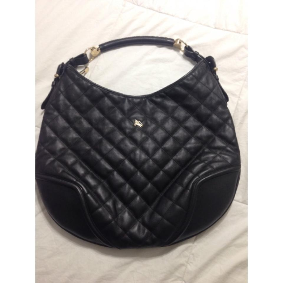 44f3fd34b77b Burberry Leather Quilted Gold Hardware Made In Italy Hobo Bag Image 9.  12345678910
