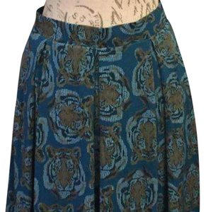 LuLaRoe Unicorn Madison Skirt Blue