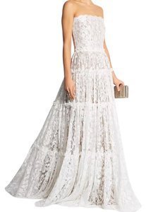 Lanvin Bnwt Lanvin Strapless Lace Tiered Floral Wedding Gown Dress Wedding Dress
