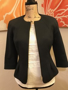 Ted Baker Jacket Work Jacket Jacket Dark Navy Black Blazer