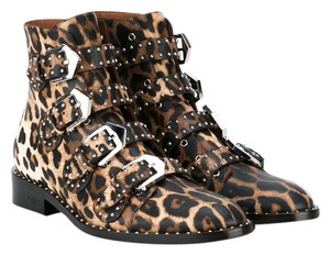 Givenchy BLACK AND BEIGE (LEOPARD PRINT) Boots