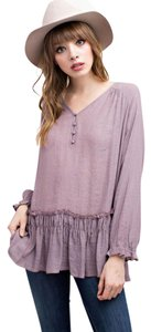 Mittoshop Top Faded Plum