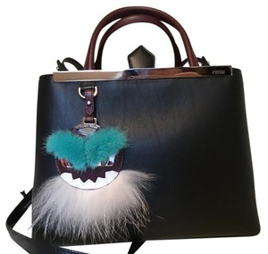 Fendi 2jours Monster Fur Cross Body Bag