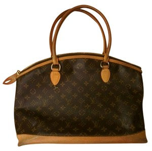 Louis Vuitton Monogram Limited Edition Canvas Gold Hardware Tote in Brown