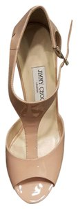 Jimmy Choo Token Nude Wedges