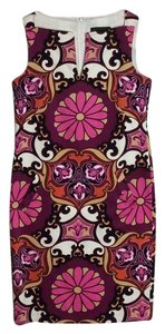 David Meister short dress Multicolor, mostly pink on Tradesy