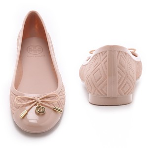 Tory Burch Jelly Tory Rain Blush Flats