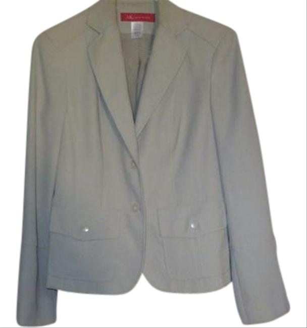 Item - Beige Jacket Pant Suit Size 4 (S)