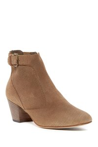 Aquatalia by Marvin K. Suede Perforated Bark/Brown Boots