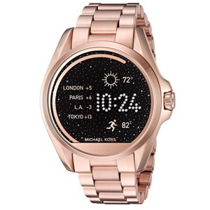 Michael Kors MICHAEL KORS MICHAEL KORS ACCESS BRADSHAW ROSE GOLD-TONE SMARTWATCH